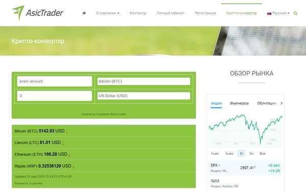 AsicTrader-сайт